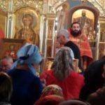 молебен в Знаменском